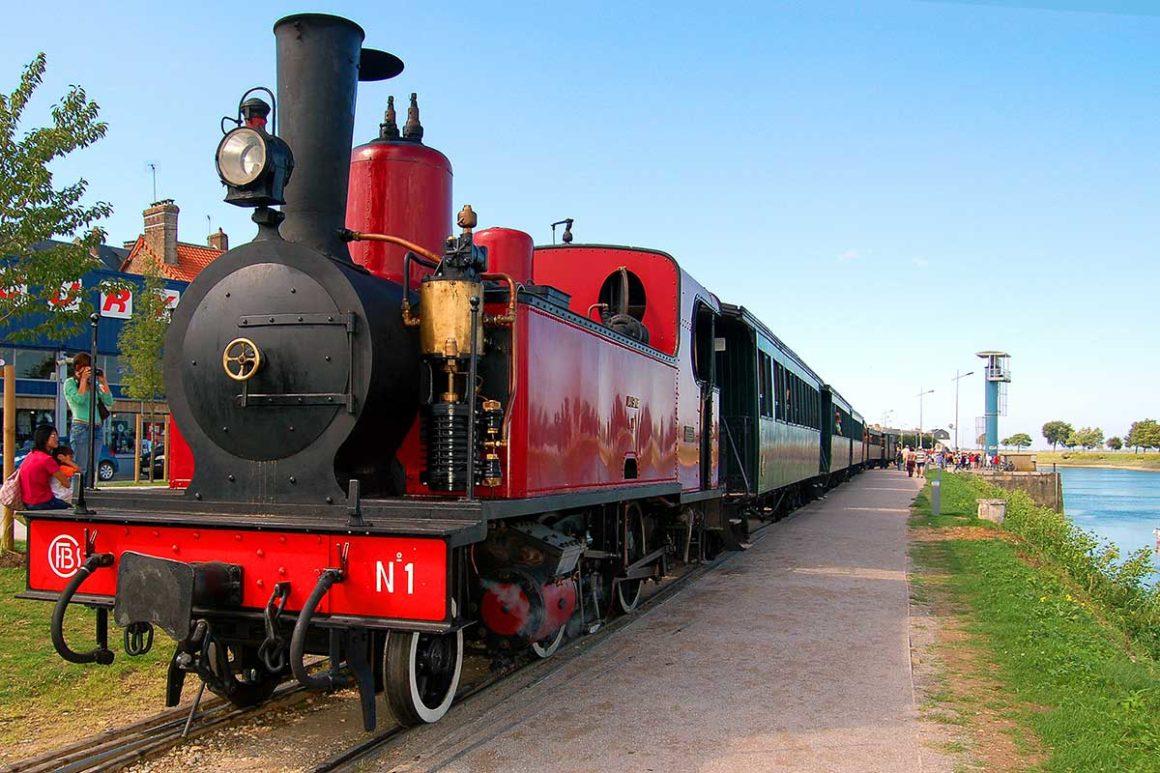Le petit train - Baie de Somme