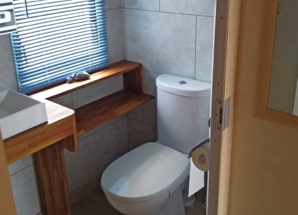 Achat mobil home toilette Willerbeg Baie de Somme