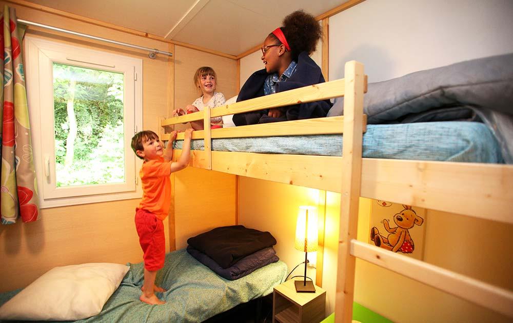 Chalet vip Val de trie chambre séjour Baie de Somme