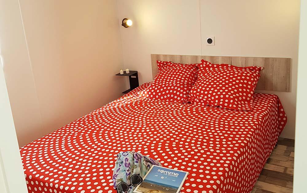 Hébergement cosy confort chambre camping Baie de Somme